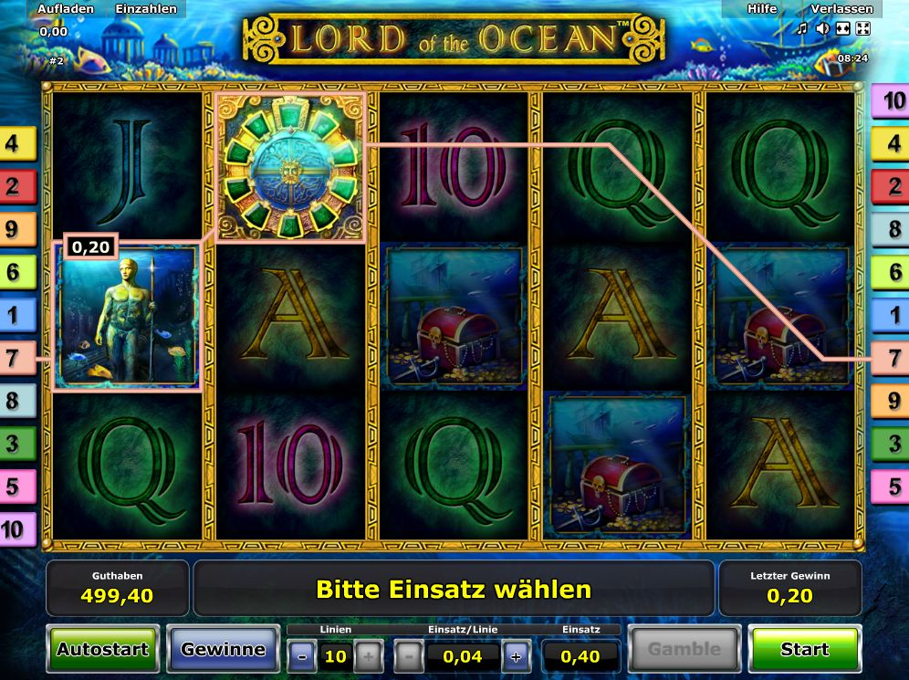 Spiele Lord Of The Ocean - Video Slots Online