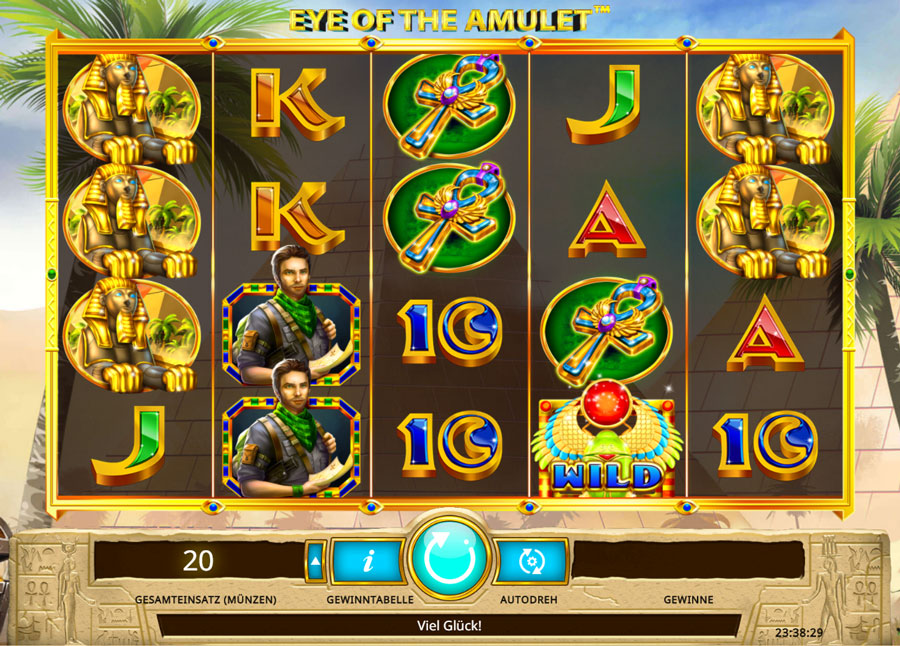 Spiele Eye Of The Amulet - Video Slots Online